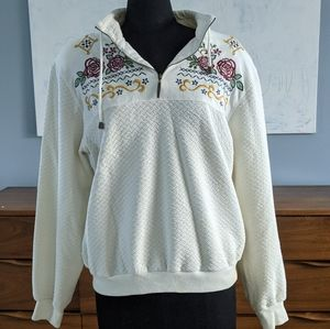 Needlepoint Quilted Sweater